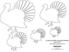 FREE TURKEY TEMPLATE FOR BULLETIN BOARDS AND DISPLAYS ...