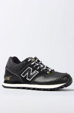 New Balance  The 574 Year Of The Snake Sneaker in Black $90.00 #MissKL #MissKLCoachella #NewBalance