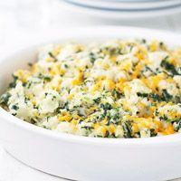 Potato-Spinach Casserole