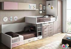 Com os apartamentos e casas cada vez menores, a necessidade de aproveitar cada centímetro do quarto do seu filho para acomodá-lo bem é grande!