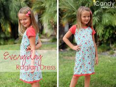 icandy handmade: Everyday Raglan Dress