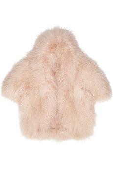 Temperley London Lourdes shearling jacket | NET-A-PORTER
