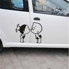 kiss stickers for cars