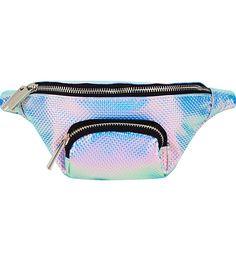 SKINNYDIP Holographic bum bag