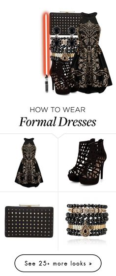 """Kylo Ren: Formal"" by saffire9975 on Polyvore featuring Samantha Wills, Vince Camuto, Chi Chi, Givenchy, women's clothing, women's fashion, women, female, woman and misses"