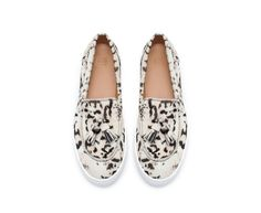 PLIMSOLLS WITH FUR AND TASSEL - Woman - New this week | ZARA United States