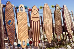 Handcrafted Custom Longboards by Locomotiv on Etsy