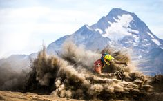 Fabian Cousinie in Les Deux Alpes, France - photo by general-lee - Pinkbike