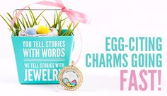 This is a #charm collector's MUST HAVE! #OrigamiOwl first ever Limited Edition #Easter charms. Click the pic to order before they hop into the Vault April 5, 2015 #spurlockets