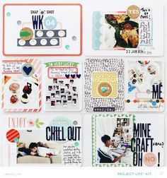 Office Hours Reveal #projectlife #scrapbook
