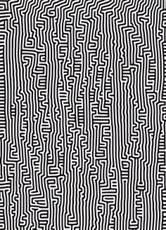 Pattern by Keith Haring Pattern Art, Abstract Pattern, Pattern Design, White Patterns, Color Patterns, Print Patterns, Zentangle Patterns, Textile Patterns, Zentangles