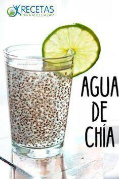 ¡Adelgaza con el agua de chia con limón!#ProteinShakes