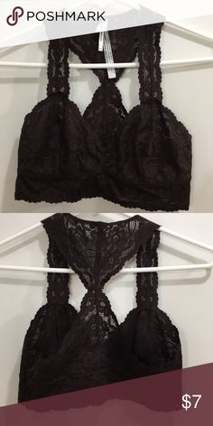 9a3669375ab63 Brown lace bralette Never worn brown lace bralette. Perfect under any  summer top. Intimates   Sleepwear Bras