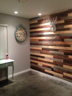 VWVortex.com - Reclaimed Wood Accent Wall Questions