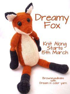 Ravelry: Dreamy Fox pattern by Browneyedbabs