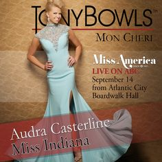 Miss Indiana 2014 Audra Casterline http://www.missamerica.org/competition-info/national-contestants.aspx?state=Indiana&year=2015&GO=GO!