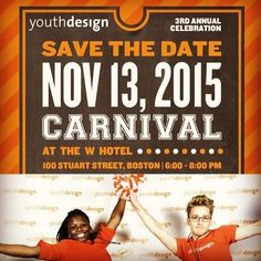 Save the Date: @youth_design carnival!