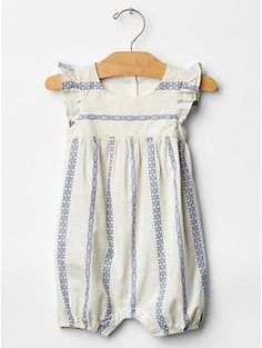 Stripe flutter one-piece | Gap needs these this year for sure! I regret selling ours last year
