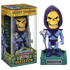 He-Man and the Masters of the Universe Skeletor Bobble Head