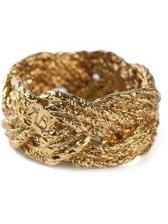 AURELIE BIDERMANN 'Miki' ring - £147 on Vein- getvein.com