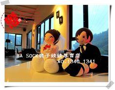 Socks doll in HA SOCK  Wedding