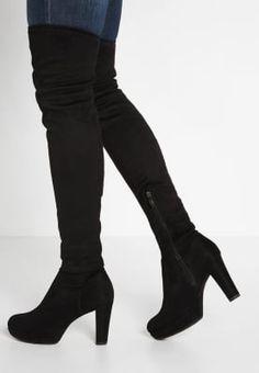 Bestill Tamaris Boots med høye hæler - black for kr 1095,00 (25.09.16) med gratis frakt på Zalando.no