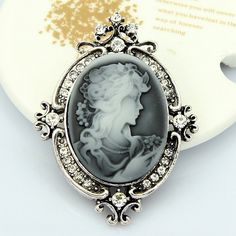 Clear Austria Crystal Rhinestone Vintage Style Fashion Victorian Style Cameo Pin Brooch Lady Fancy Jewelry Brooch Pins     Tag a friend who would love this!     FREE Shipping Worldwide     Buy one here---> http://jewelry-steals.com/products/clear-austria-crystal-rhinestone-vintage-style-fashion-victorian-style-cameo-pin-brooch-lady-fancy-jewelry-brooch-pins/    #bangles
