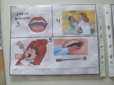 Comment préparer la visite chez le dentiste ?  Voici un exemple très réussi de livret visuel pour tout expliquer...