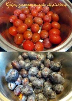 Μαρμελάδα δαμάσκηνο, εύκολα και γρήγορα! - cretangastronomy.gr Fruit Jam, Sweet Recipes, Jelly, Plum, Blueberry, Sweets, Vegetables, Desserts, Food