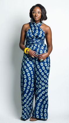 The Boundless Infinity Jumpsuit in Swirl on 'Em – Zuvaa