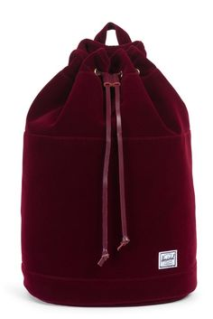 Nothing like upgrading your backpack situation with a VELVET one!