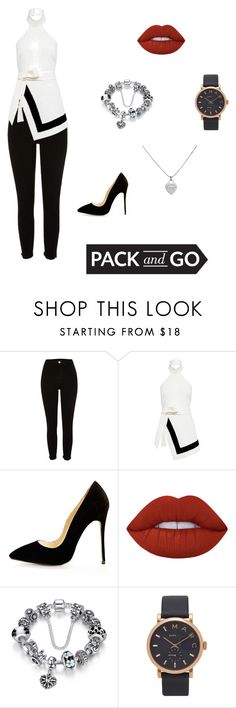 """Untitled #276"" by angel000 on Polyvore featuring River Island, Finders Keepers, Lime Crime, Marc Jacobs, Tiffany & Co., tokyo and Packandgo"