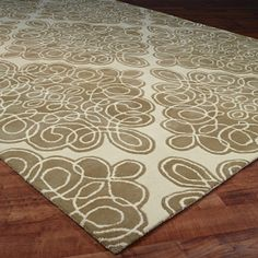 $2,398.00 - Curls Medallion Hand Tufted Rug: 2 Colors (9' x 13')