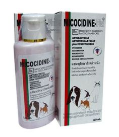 Micocidine Plus Medicated Shampoo for Dogs and Cats 120 ml *** Continue to the product at the image link.