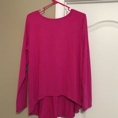 Romwe pink top with glitter elbow patches New! Size do but fits like a large Tops Blouses