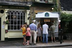 Crepe Stand in Hampstead, North London.  Long lines but best. crepes. ever.