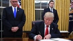 White House officials reportedly said Trump will sign an order on Wednesday to direct federal funds toward building the border wall.