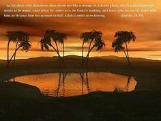 Quran 24:39. Islam