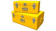 Large preview of 3D Model of ensemble 2MALLES jaunes, maisons du monde, ref 122169 prix 79€