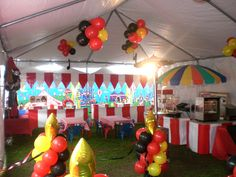 Circus Decorations | ... Carnival Games And Party Rentals in San Diego - Carnival Decoration