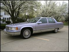 G30 1995 Cadillac Fleetwood. Last of the Classic line