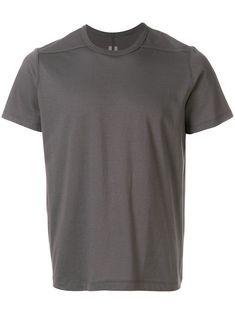 Rick Owens Short Level T-shirt Rick Owens Men, Short Sleeves, Mens Fashion, Grey, Mens Tops, T Shirt, How To Wear, Cotton, Clothes