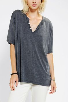 Coincidence & Chance Split-Neck Henley Tee http://www.urbanoutfitters.com/urban/catalog/productdetail.jsp?id=28572477&parentid=W_TOPS
