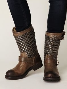 really want some studded boots