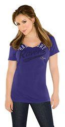 Baltimore Ravens Women's Purple Audible V-Neck T-Shirt -Touch by Alyssa Milano $24.99 http://www.fansedge.com/Baltimore-Ravens-Womens-Purple-Audible-V-Neck-T-Shirt--Touch-by-Alyssa-Milano-_-1378655581_PD.html?social=pinterest_pfid28-34230