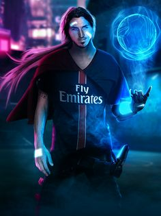 Cyber Street Football - Zlatan by Bosslogix on DeviantArt Cr7 Messi, Messi And Ronaldo, Cristiano Ronaldo 7, Lionel Messi, Football Images, Football Art, Soccer Guys, Football Players, Neymar Jr Wallpapers