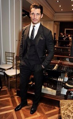 David Gandy at the opening of the Dolce & Gabbana Men's Store in London - June 15, 2013