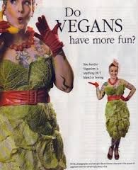 Proof that Vegans truly do have more fun! hehe :-)