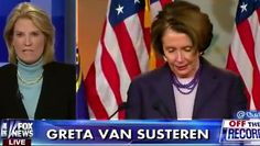 While Nancy Pelosi threatens to boycott Benjamin Netanyahu's visit to Congress later this year, Greta Van Susteren fired back with a threat of her own.
