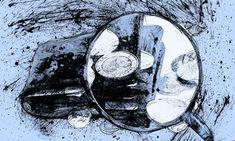 Peníze peněženka lupa kresba tužkou pohyblivý animovaný obrázek gif animace Animated Scribble zdarma stažení Moving Gif, Gifs, Scribble, Animation, Art, Art Background, Kunst, Doodles, Animation Movies